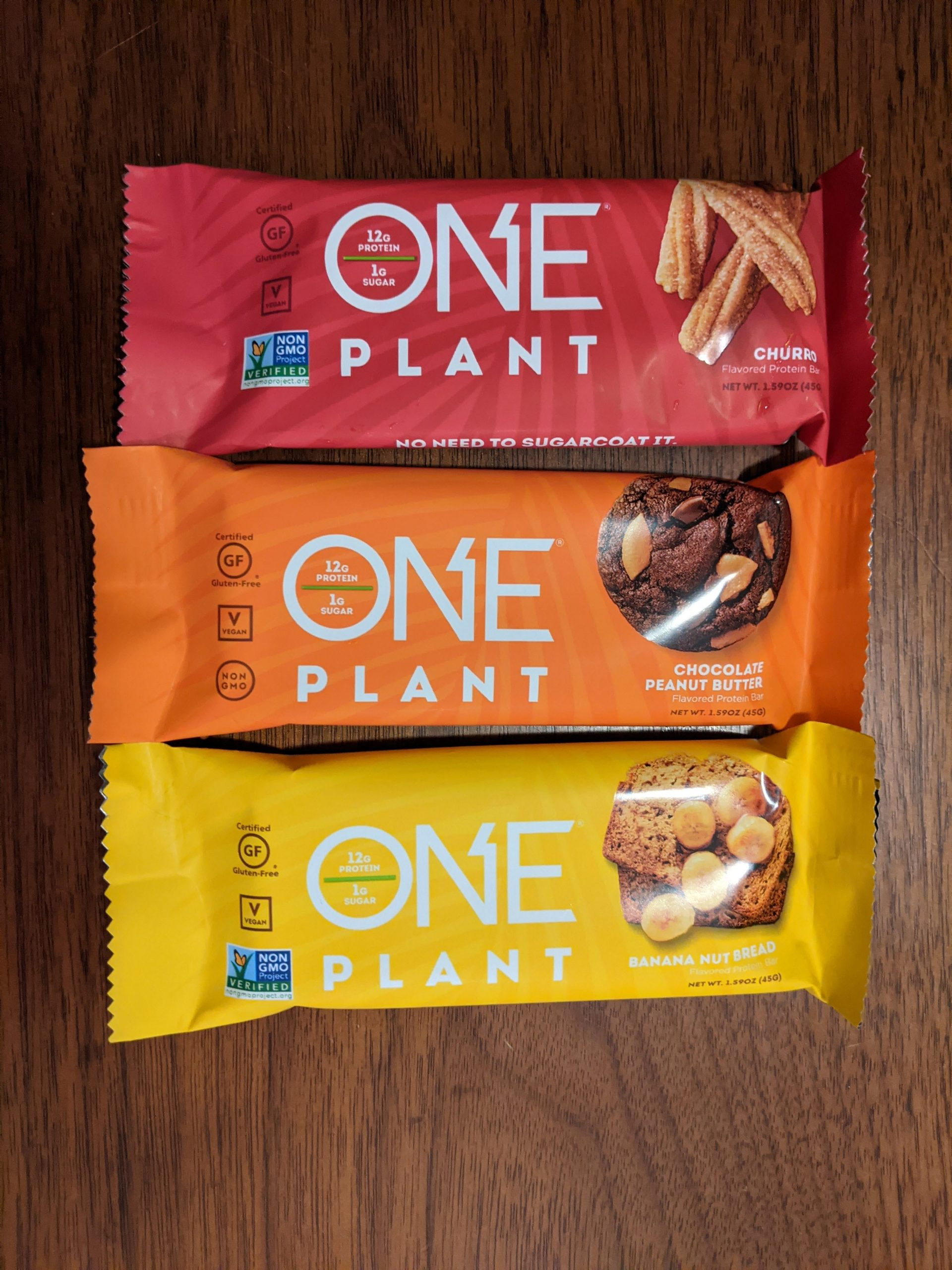 One Plant Vegan Protein Bars